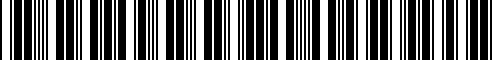 Barcode for G4900-6JB1B