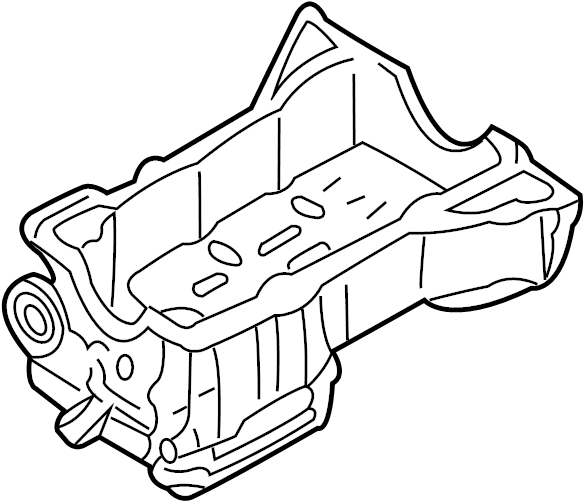 INFINITI I30 Engine Oil Pan. ASSEMBLY, COMPONENT - 11110 ...