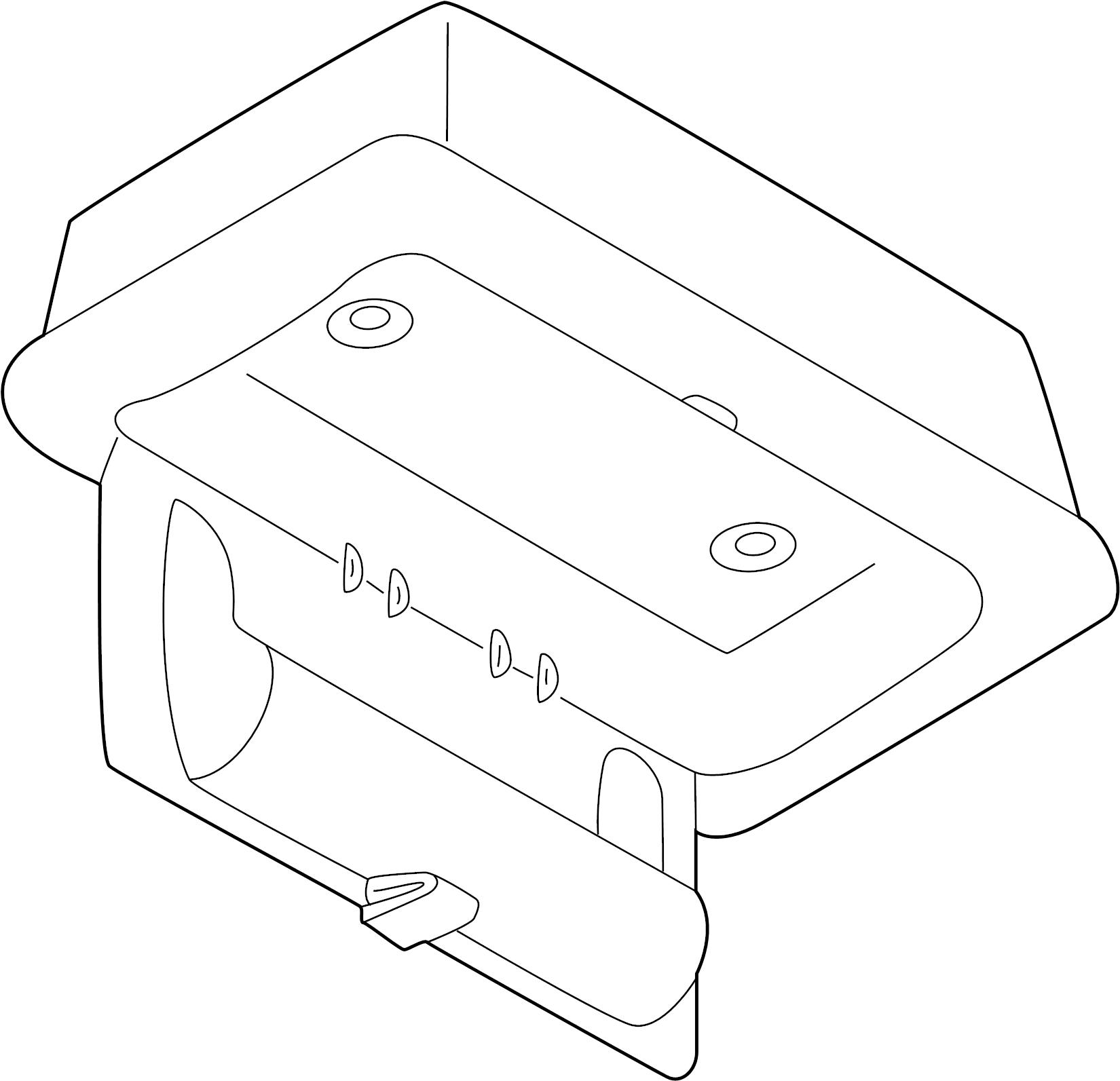 Infiniti I30 Overhead Console  Sunroof  Ses  Gxel