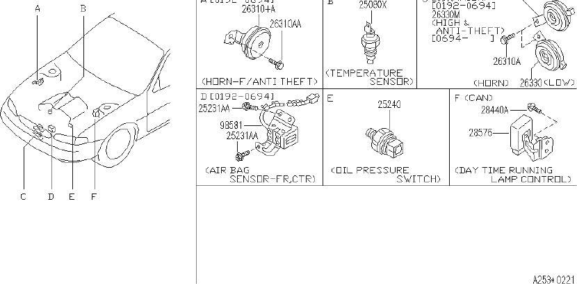 Infiniti J30 Bolt  Cal  Fed  Engine