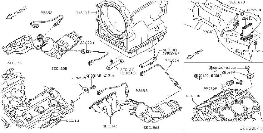 Infiniti Qx70 Engine Control Module